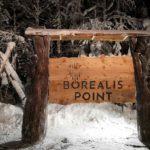 Borealis Point entry sign