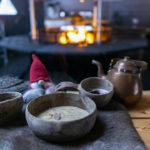 Borealis Point creamy game soup