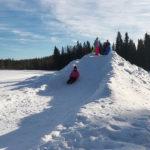Borealis Point sledding hill